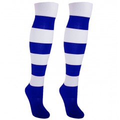 Гетры футбольные NB ZEBRA сине/белые