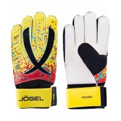 Вратарские перчатки Jögel ONE Wizard AL3 Flat желтые