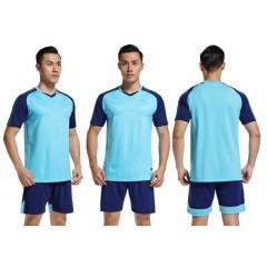 Форма футбольная NB DRYF голубая/т.синя