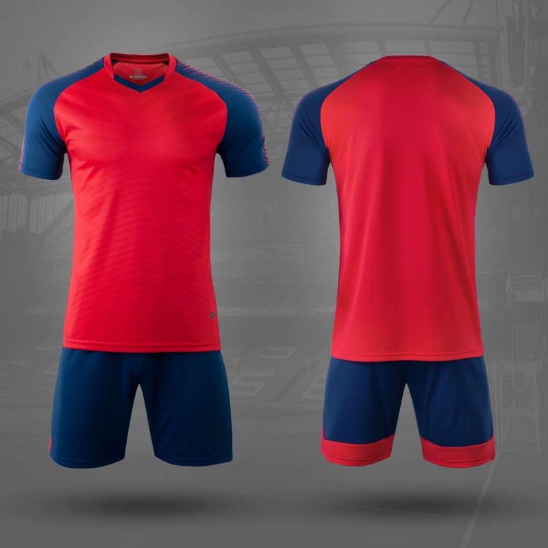 Форма футбольная NB DRYF красная/т.синяя