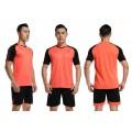 Детская форма футбольная NB DRYF неон-оранжево/ черная