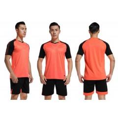 Форма футбольная NB DRYF неон-оранжево/ черная