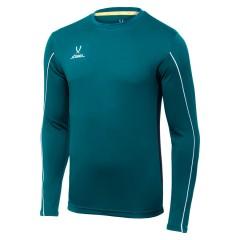 Детская вратарская футболка Jogel CAMP GK Padded LS зелёная