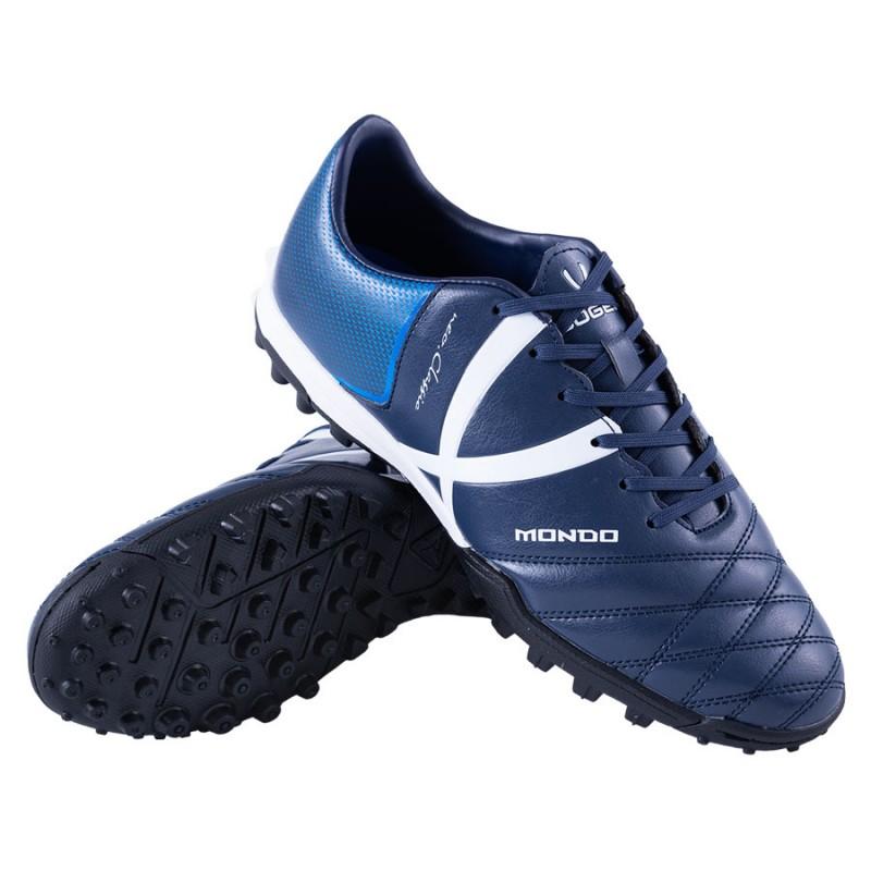 Детские (подростковые) сороконожки для футбола JOGEL Mondo JSH202-Y тёмно-синий