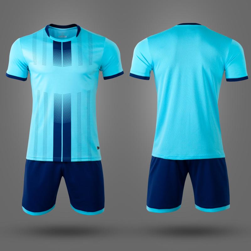 Футбольная форма NB PSG голубая/т.синяя