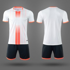 Футбольная форма NB PSG белая/оранжевая