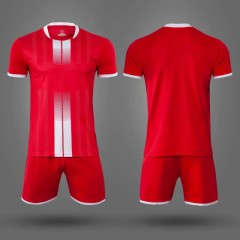 Детская футбольная форма NB PSG красная/белая