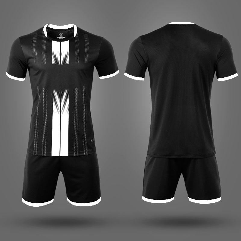Детская форма футбольная NB PSG черная/белая