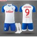 Форма футбольная (футболка, шорты) NB DRYF на команду с нанесением и гетрами